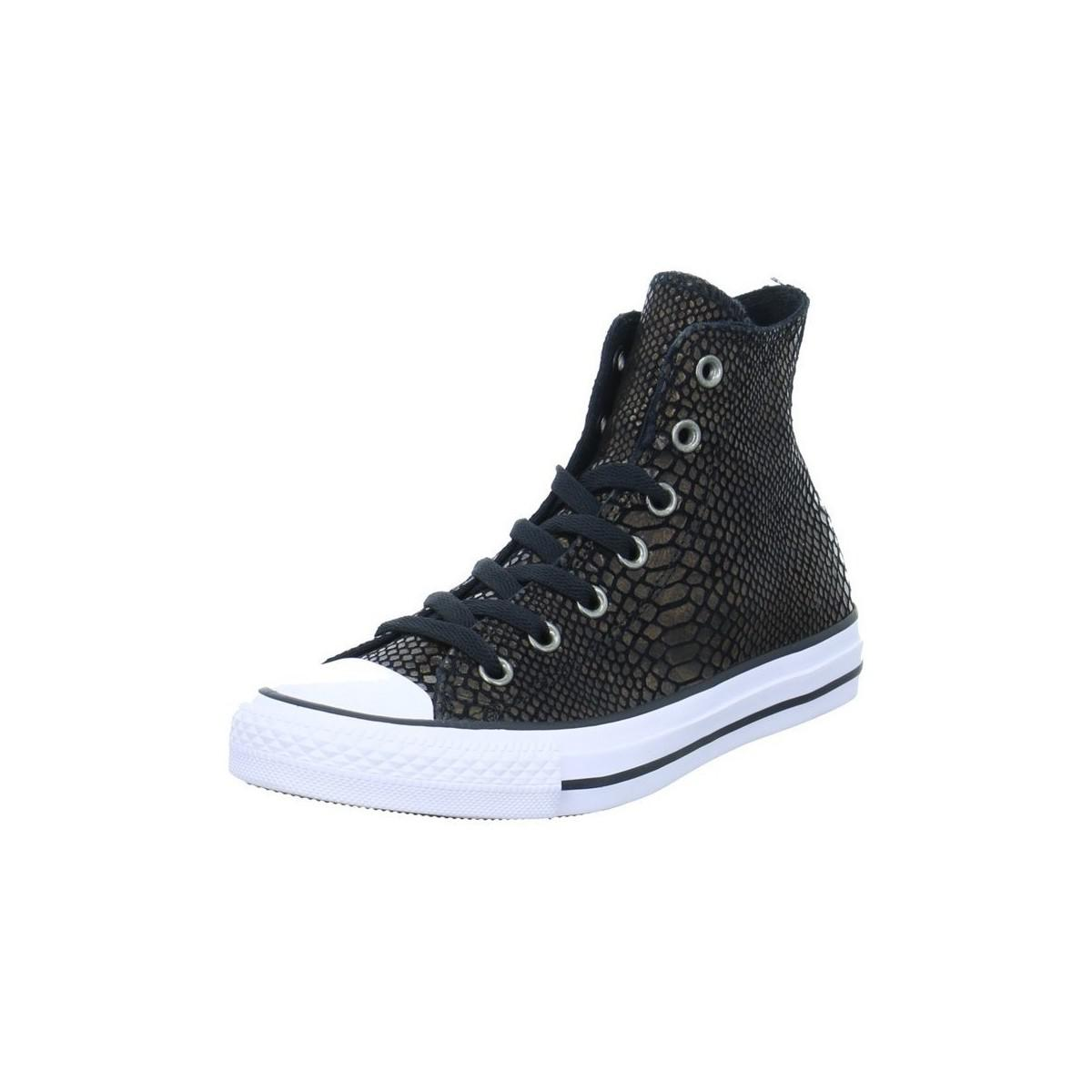 Converse Ct As Hi Women's Shoes (high-top Trainers) In Brown
