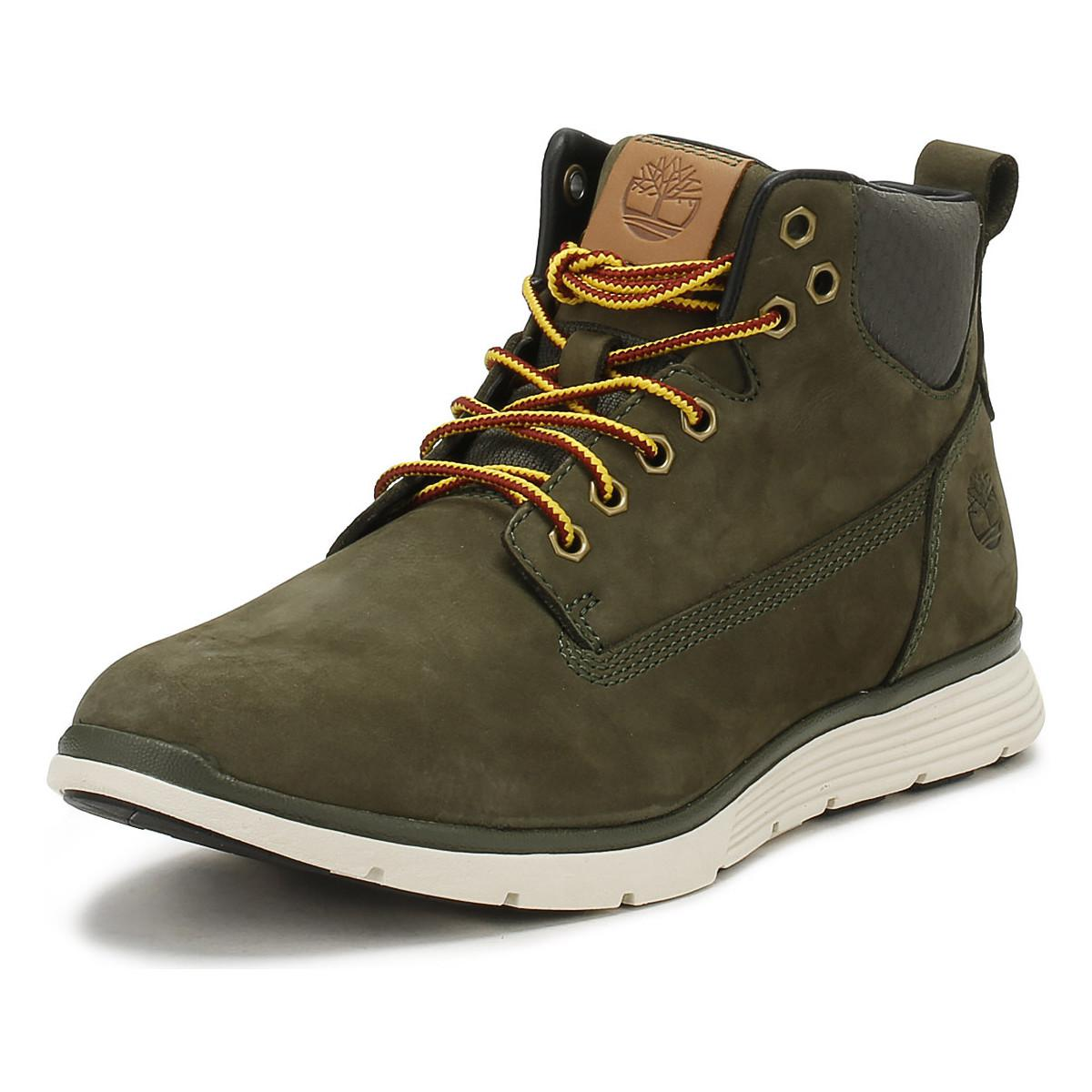 best sale new photos outlet Mens Grape Leaf Green Killington Chukka Boots Men's Mid Boots In Green