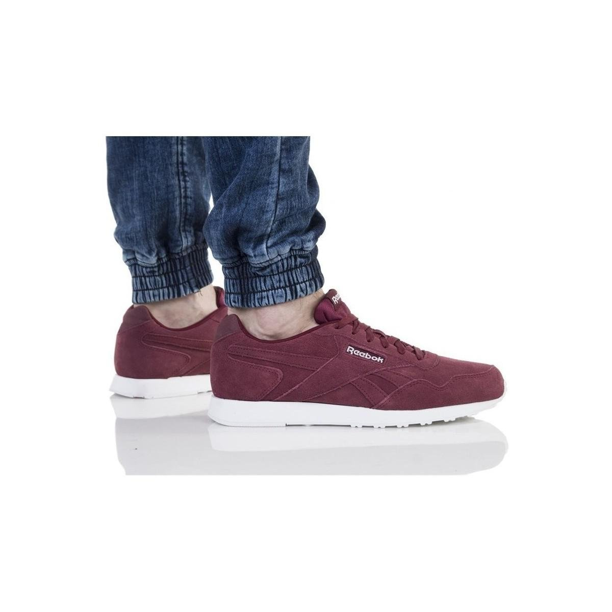 6202cd9567fad0 Reebok Royal Glide Lx Men s Shoes (trainers) In Red in Red for Men ...