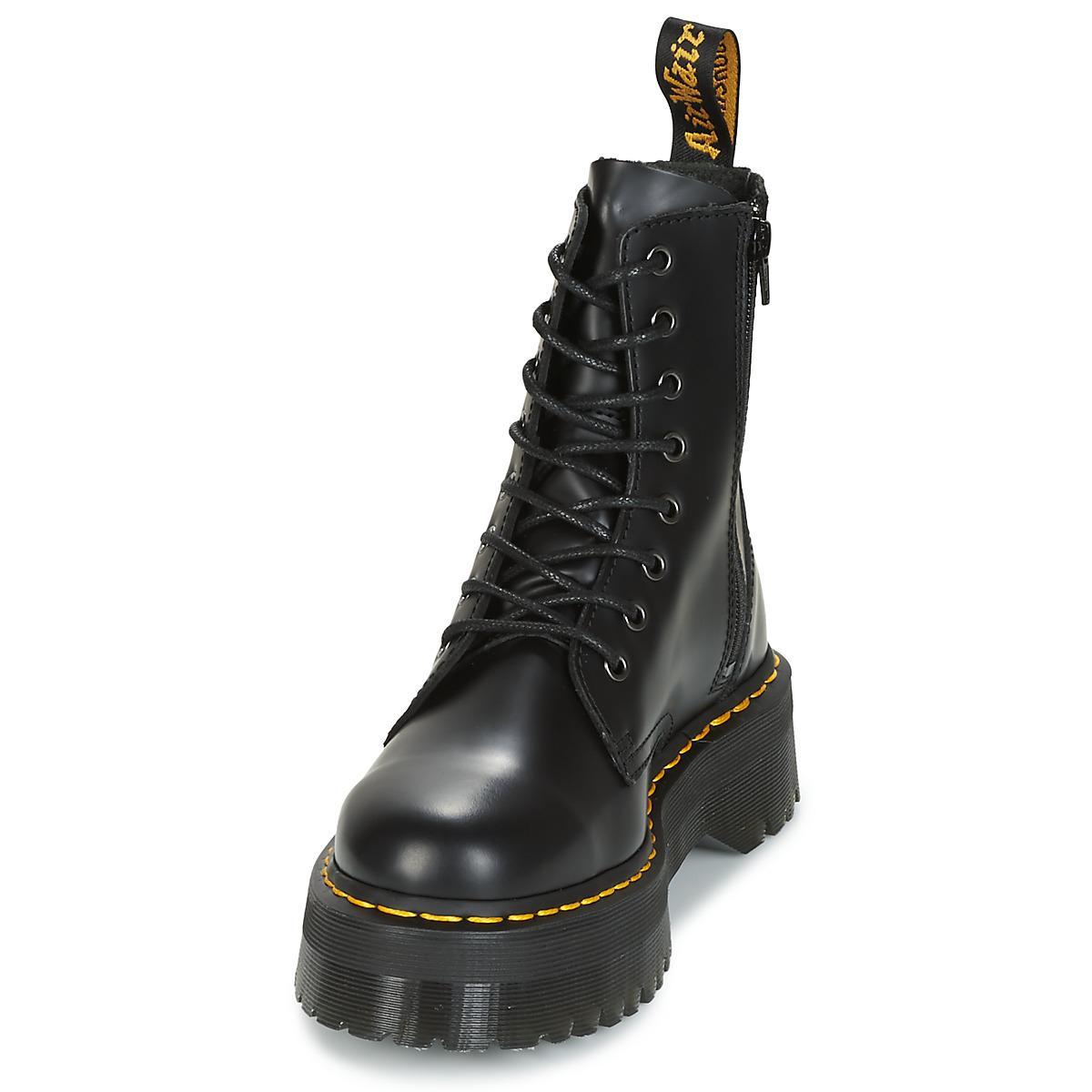 eea647834bdc Lyst Noir Boots Dr Coloris Jadon Martens En Femmes wwqa8P4