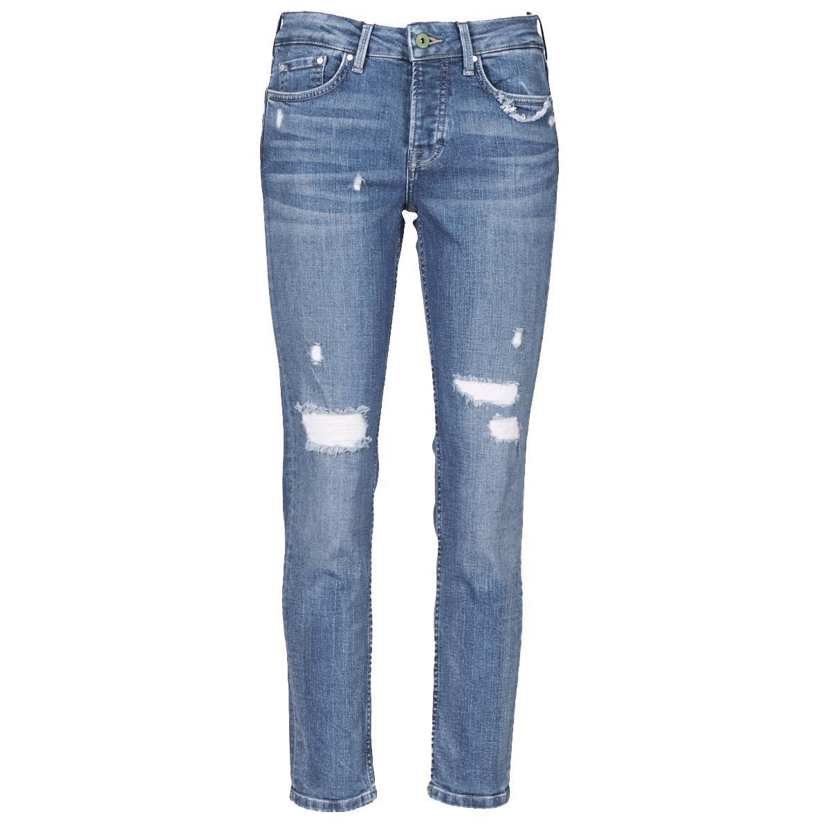 Pepe Jeans Denim Jolie Eco Jeans in Blue