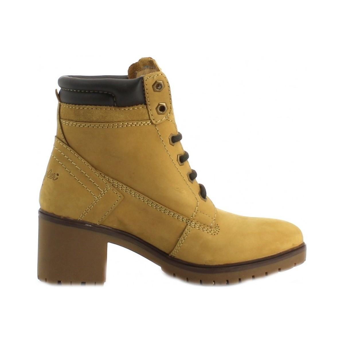 Sierra Femmes Bottines Chaussures Jaunes Pour Lyst Creek En 29EYDHWI