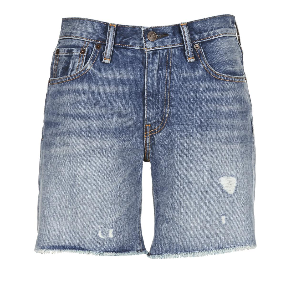 faef77dc Levi's 505 Short Shorts in Blue - Lyst