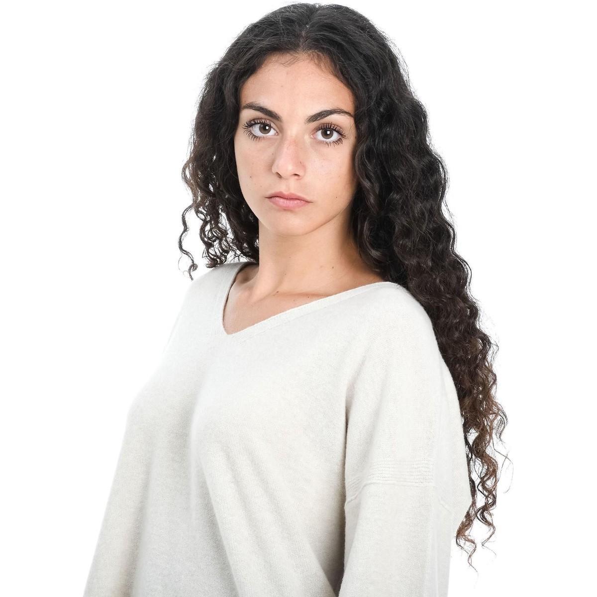 MAILLE FEMME Pull Manila Grace en coloris Blanc