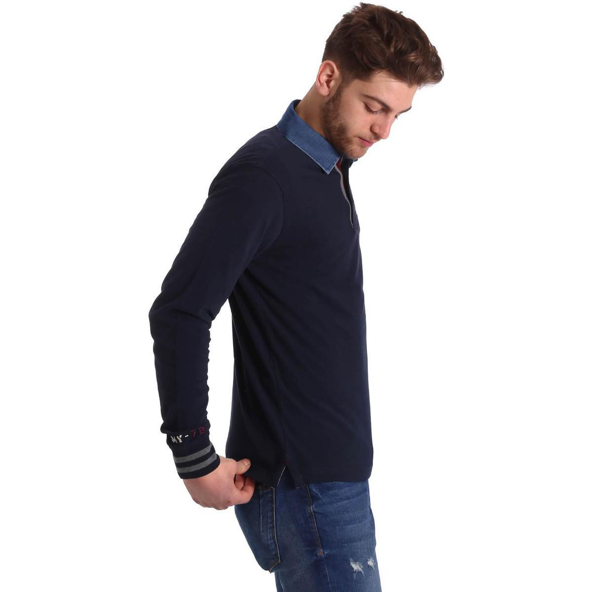 Marina Yachting B20278332750 83235 Polo Man Men's Polo Shirt In Blue for Men