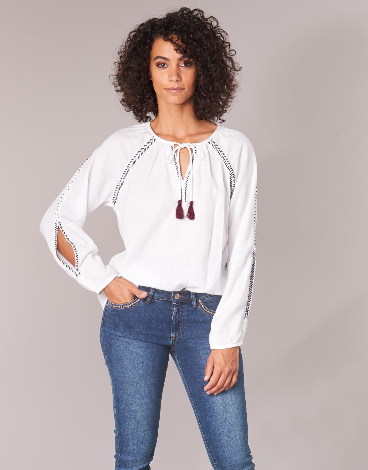 IKKS Cranbery Women's Blouse In White