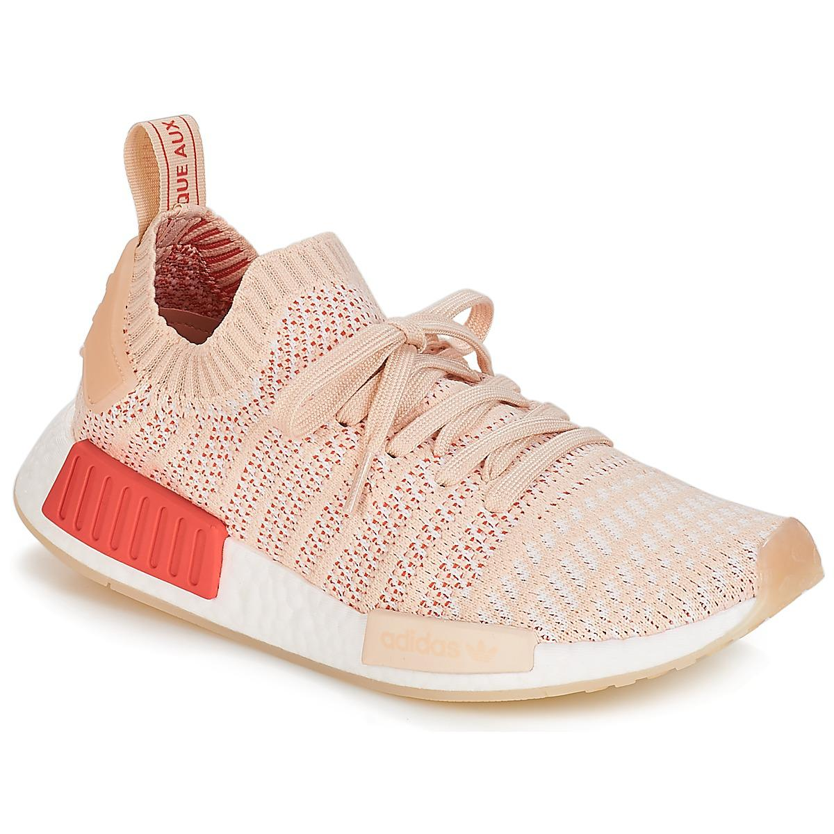 2e4ea8947760a adidas Nmd R1 Stlt Pk W Women s Shoes (trainers) In Multicolour in ...