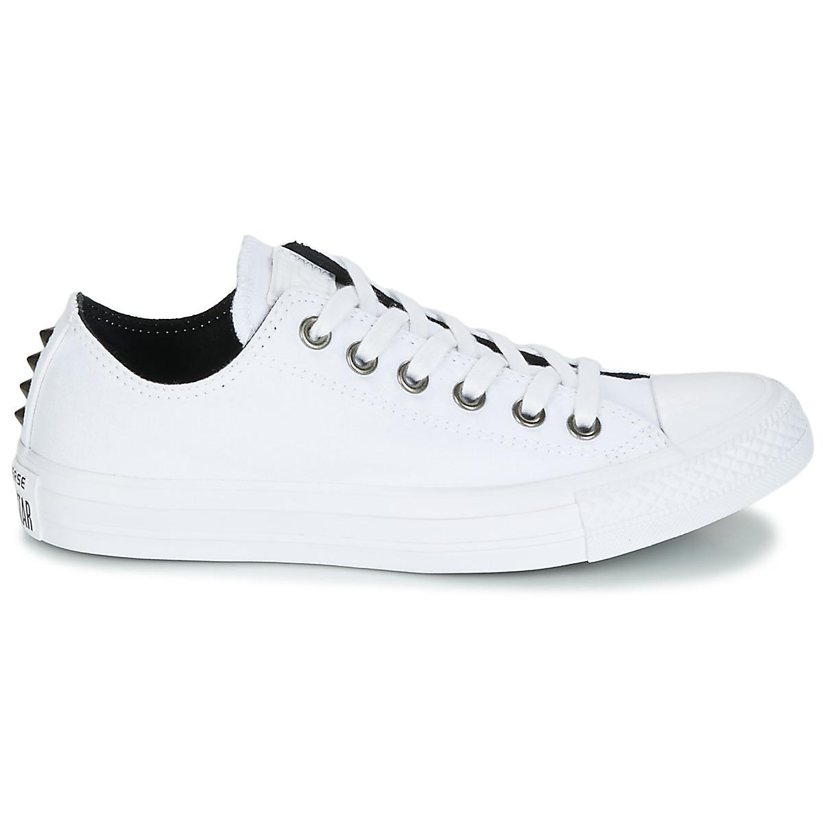 02f3e0f805a767 Converse Chuck Taylor All Star Ox Canvas + Studs Women s Shoes ...