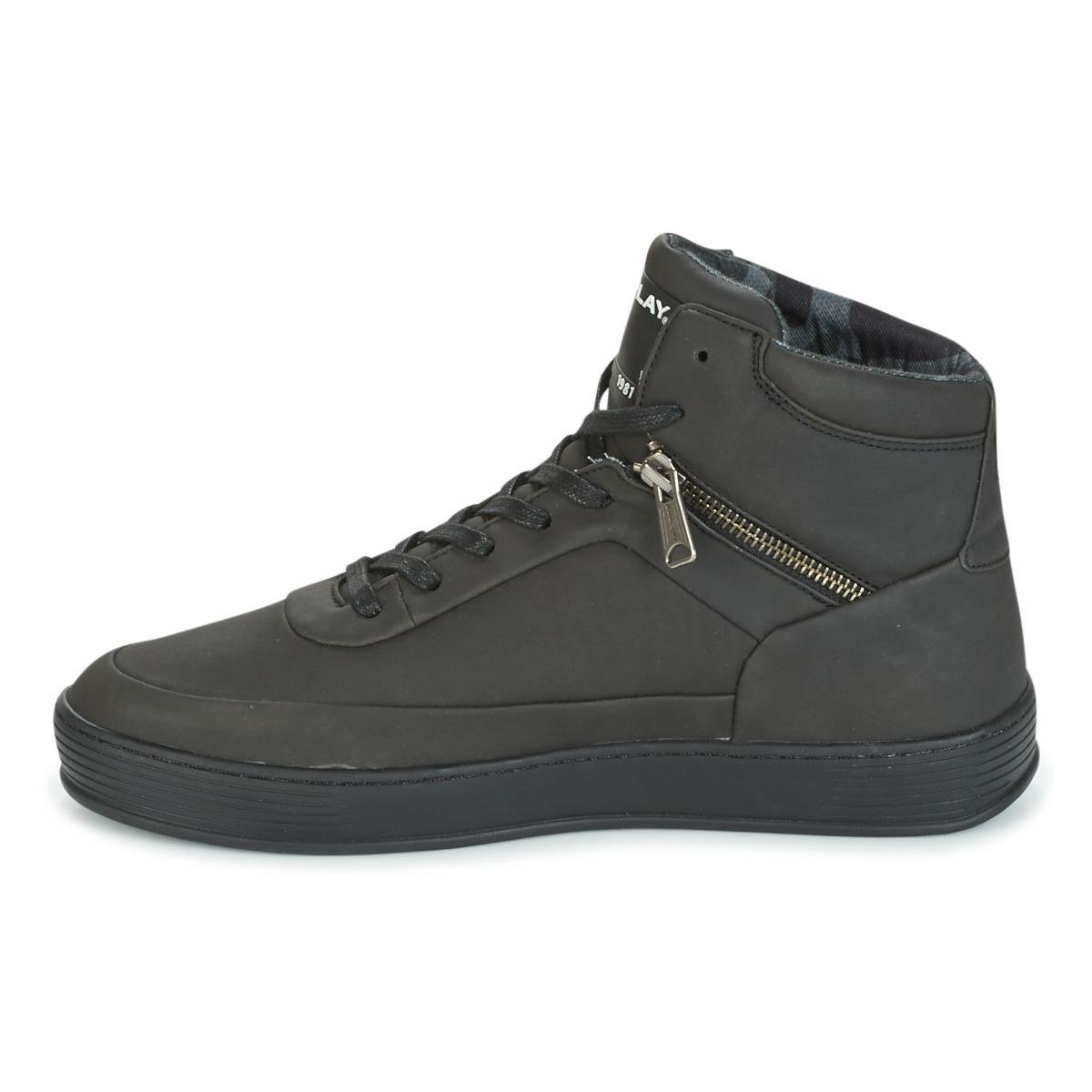 Replay Take Men's Shoes (high-top Trainers) In Black for Men