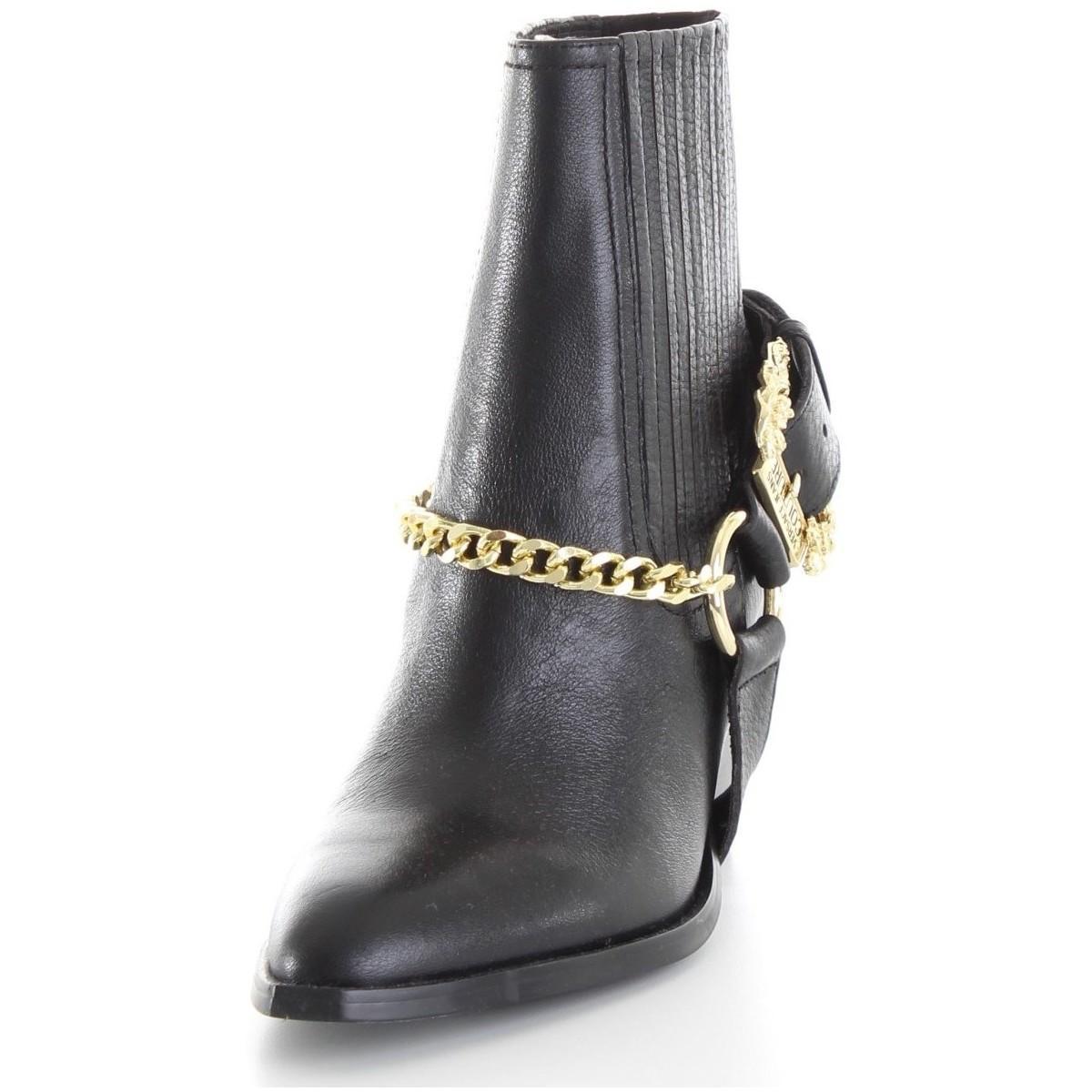 E0 VUBS10 71161 Bottines Versace en coloris Noir