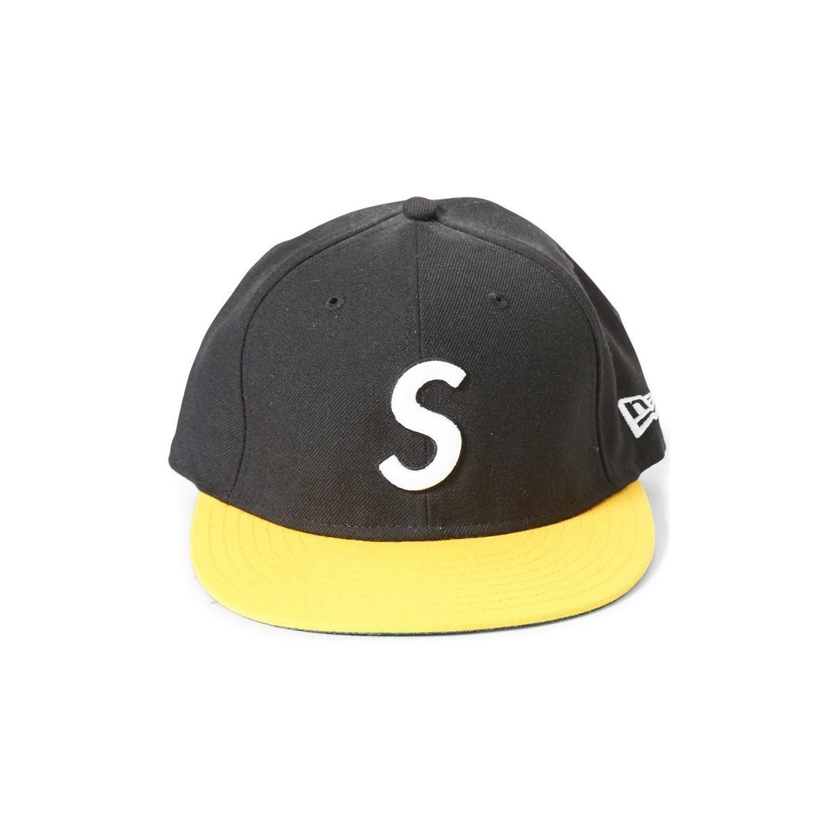 b11c1efb Supreme S Logo Cap Black