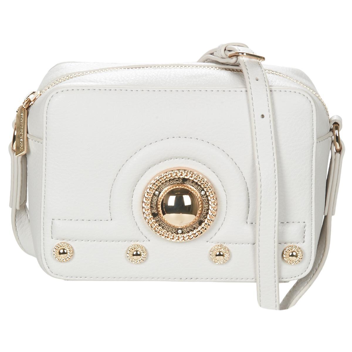 469f1921ce Versace Jeans Vrbbl4 Women's Shoulder Bag In White in White - Lyst