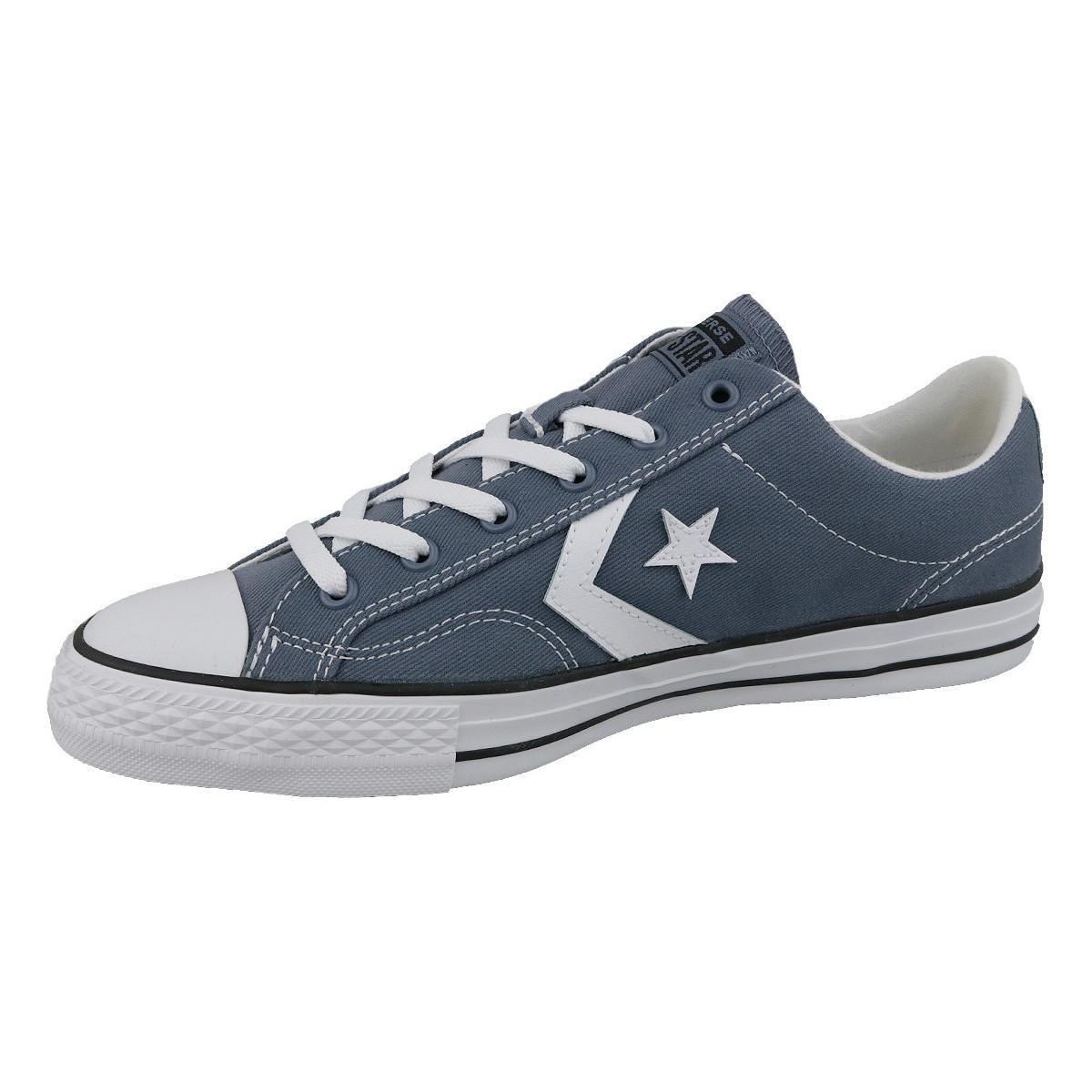 Converse Lage Sneakers Player Star Ox 160557c in het Blauw voor heren