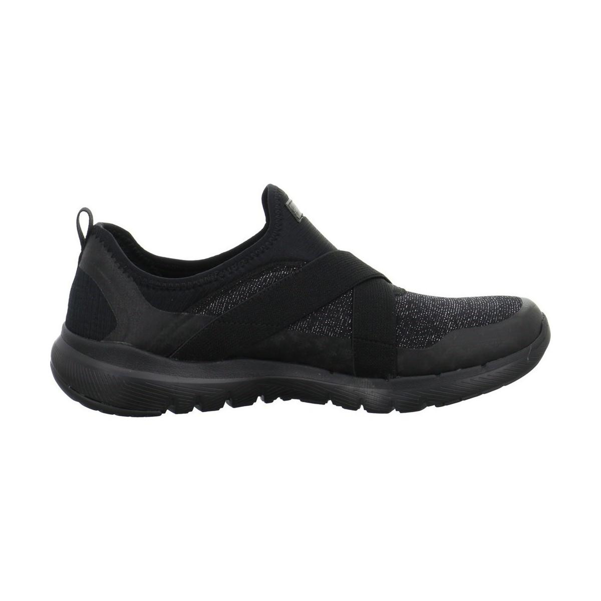 Skechers Finest Hour Women's Shoes (trainers) In Black