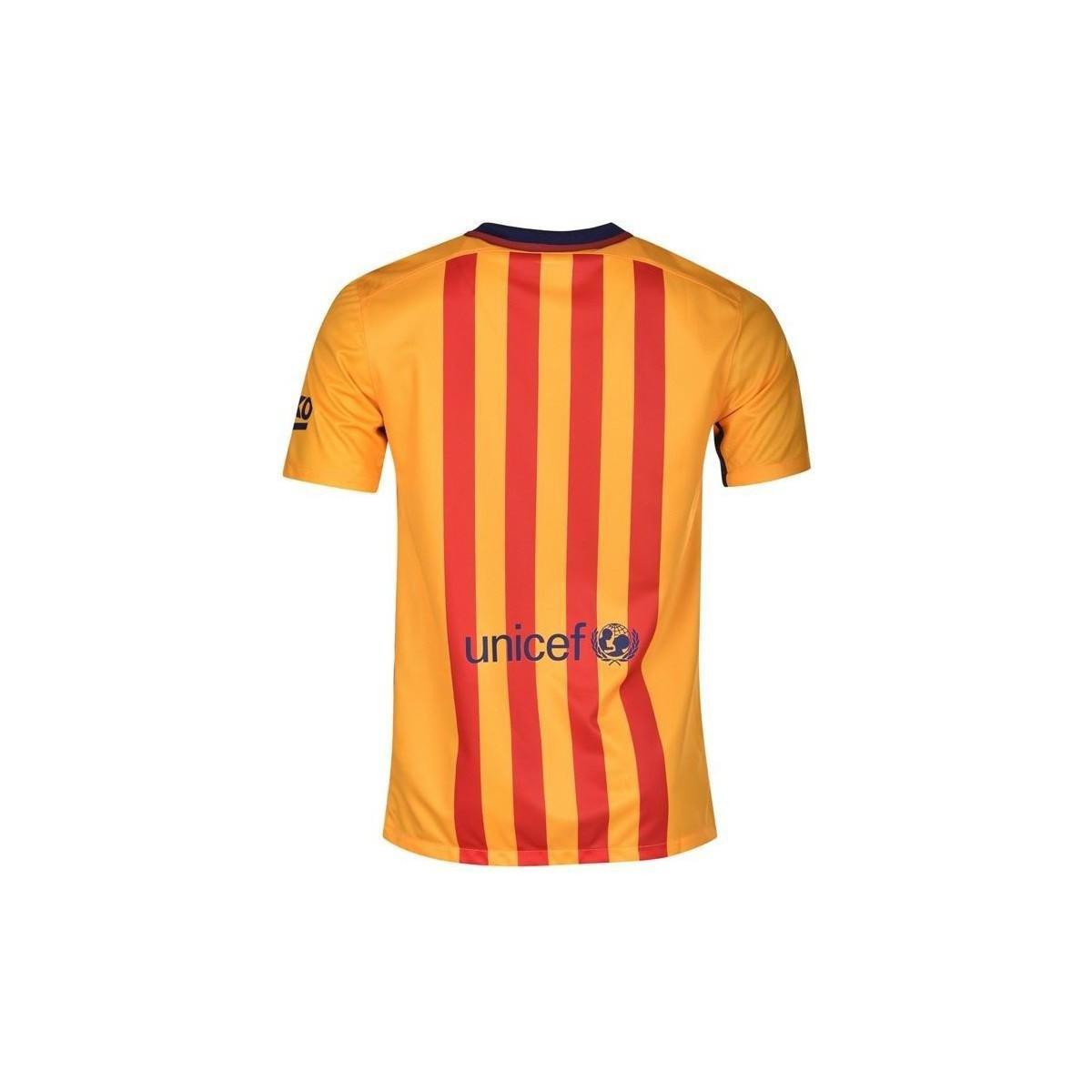 f1e2a1b1b73 Nike 2015-16 Barcelona Away Shirt (messi 10) - Kids Men s T Shirt In ...
