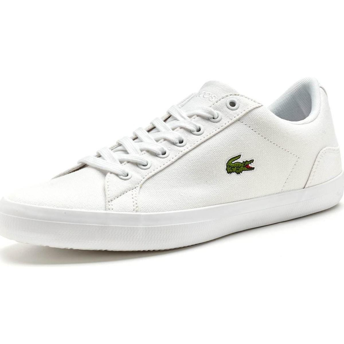 4341549dce02 Lacoste - Lerond Bl 2 Cam Trainers In White 733cam1033 001 Men s Shoes ( trainers). View fullscreen