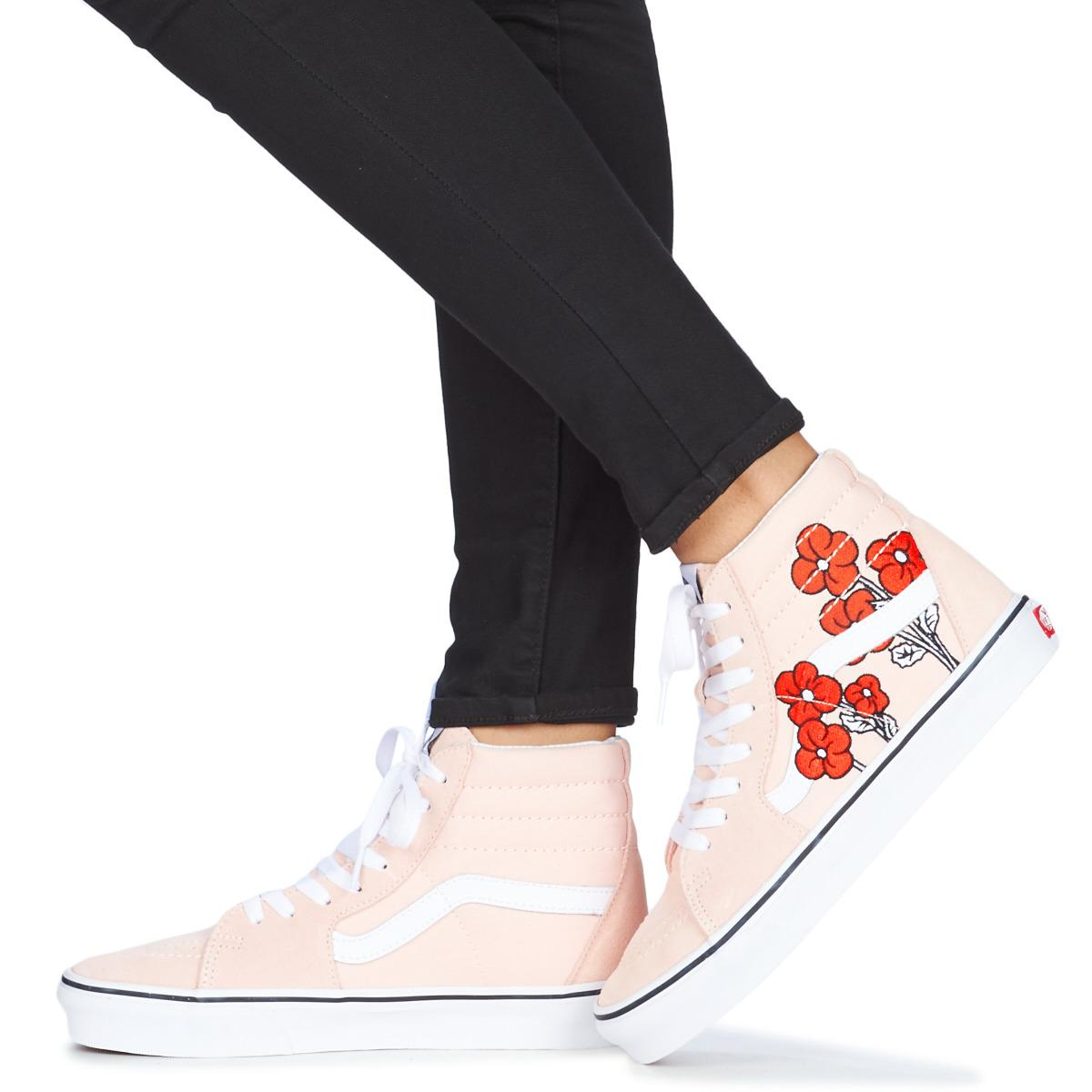 daf5d44ca0 Vans Disney Sk8-hi Women s Shoes (high-top Trainers) In Pink in Pink ...