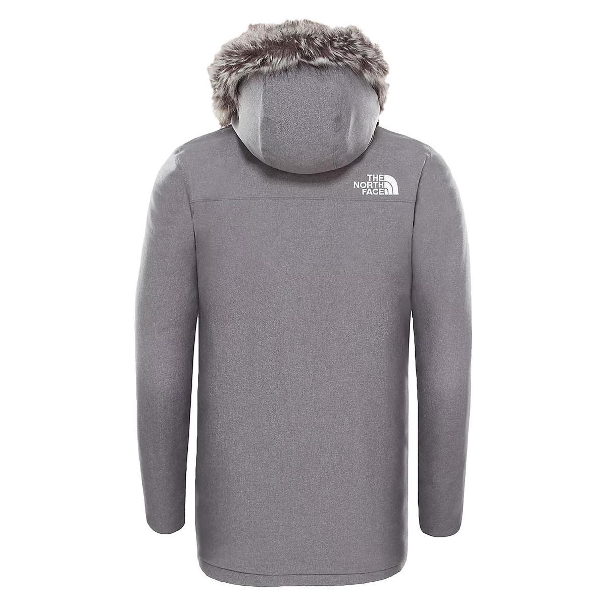The North Face Parka Jas Zaneck Jacket in het Grijs voor heren