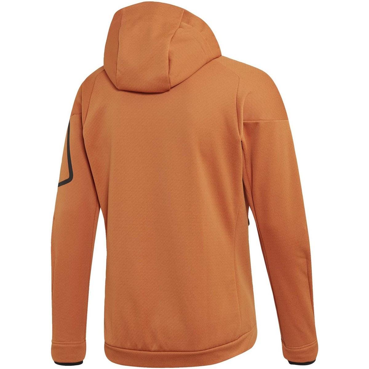 adidas Trainingsjack Climaheat Fleece Jack Met Capuchon in het Oranje voor heren