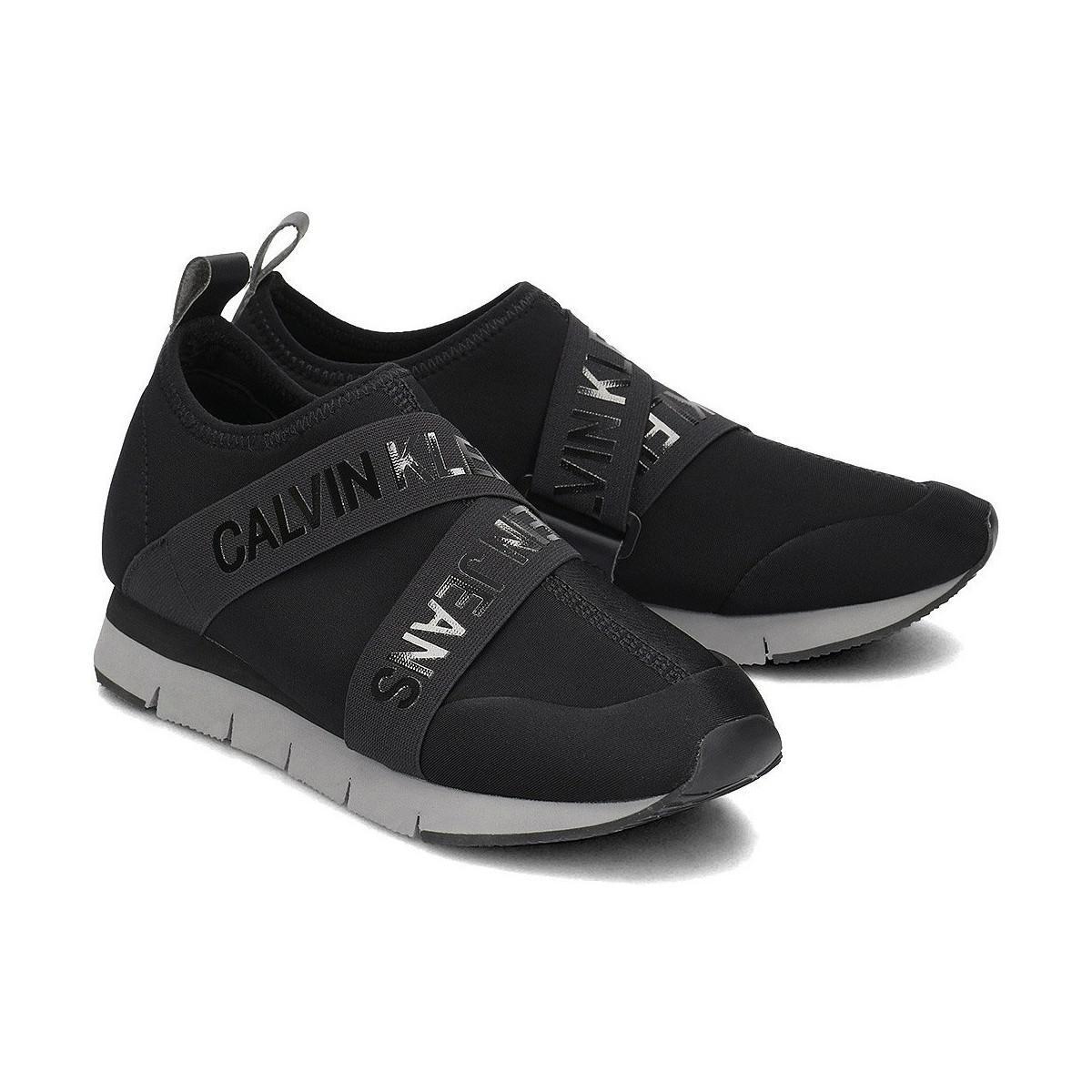 meilleur endroit moins cher parcourir les dernières collections RE9787 femmes Chaussures en Noir Calvin Klein en coloris Black