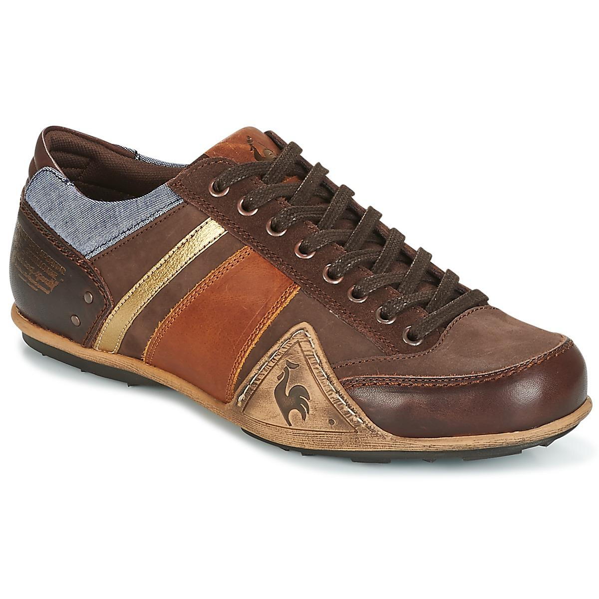 le coq sportif turin leather chambray men 39 s shoes. Black Bedroom Furniture Sets. Home Design Ideas