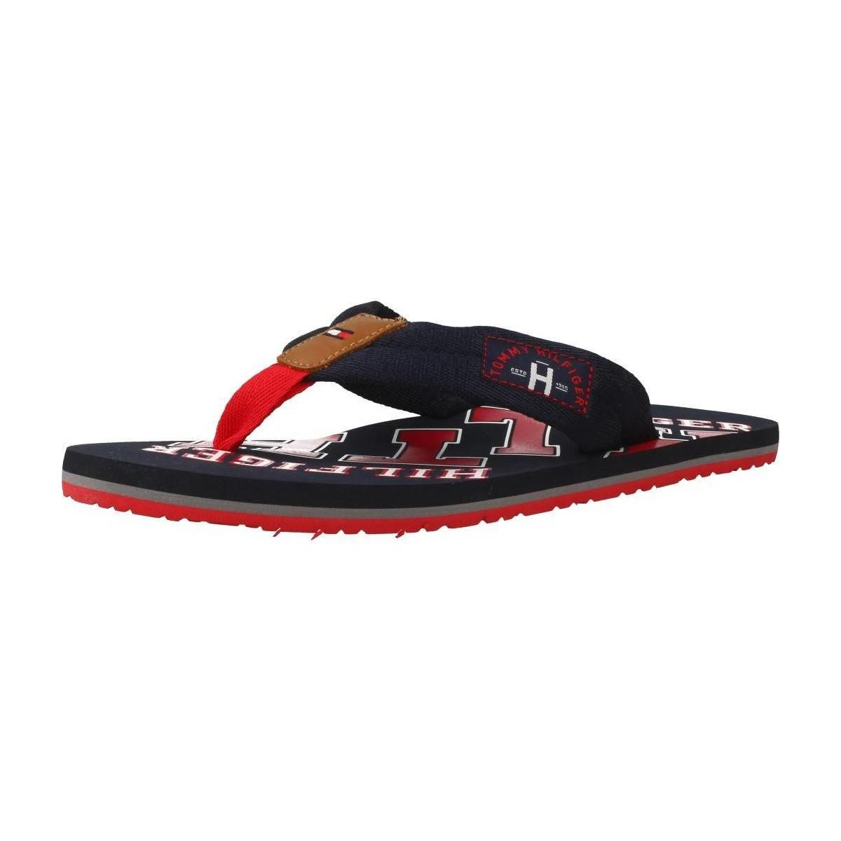 2381a52c7 Tommy Hilfiger Fm0fm01369 Men s Flip Flops   Sandals (shoes) In Blue ...