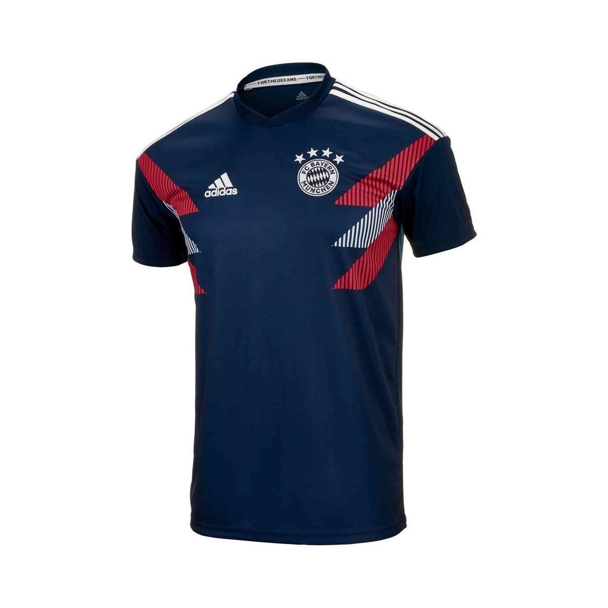 417de30be70b6 adidas 2018-2019 Bayern Munich Pre-match Training Shirt - Kids Men's ...