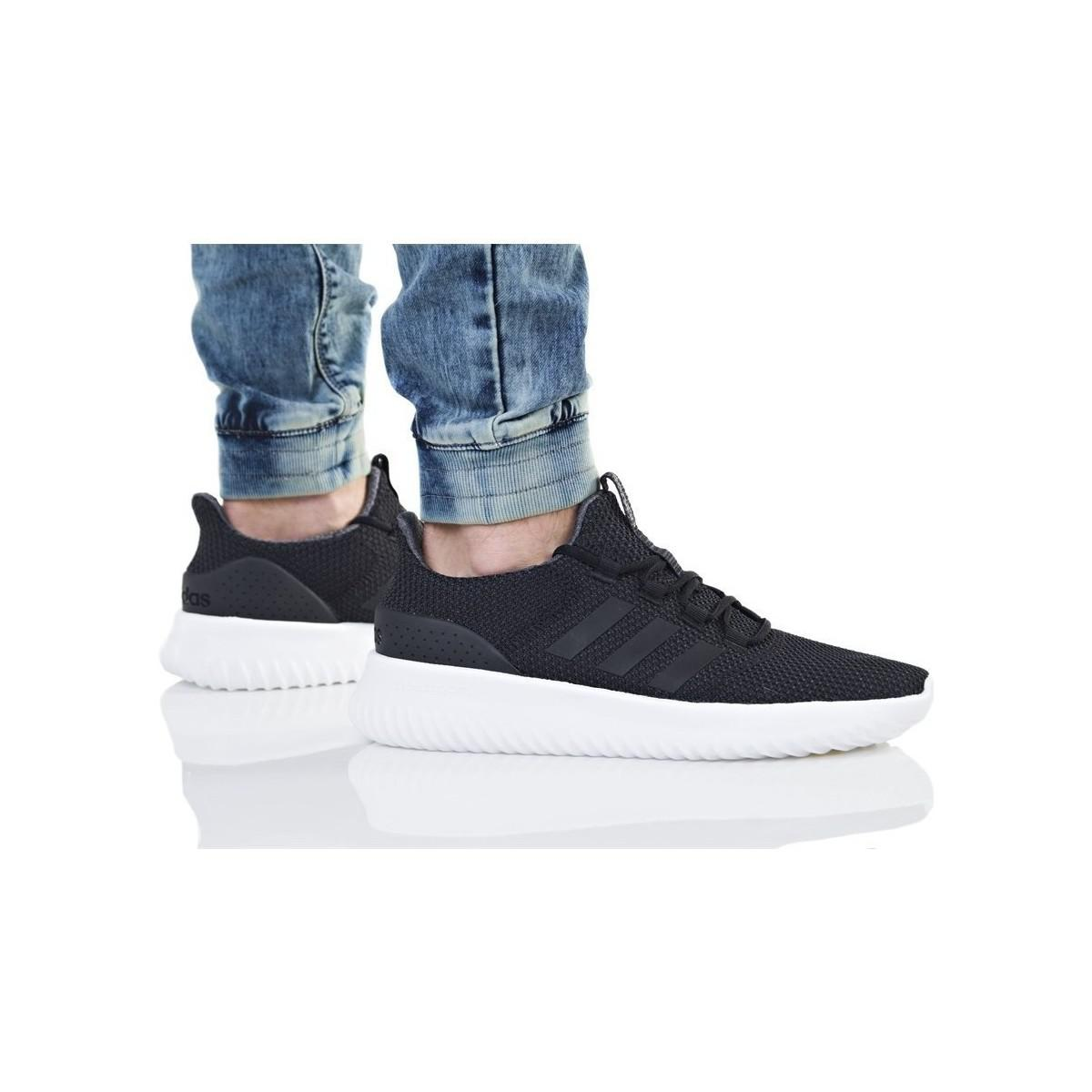 adidas Cloudfoam Ultimate Men's Shoes (trainers) In Black for Men - Save 32%