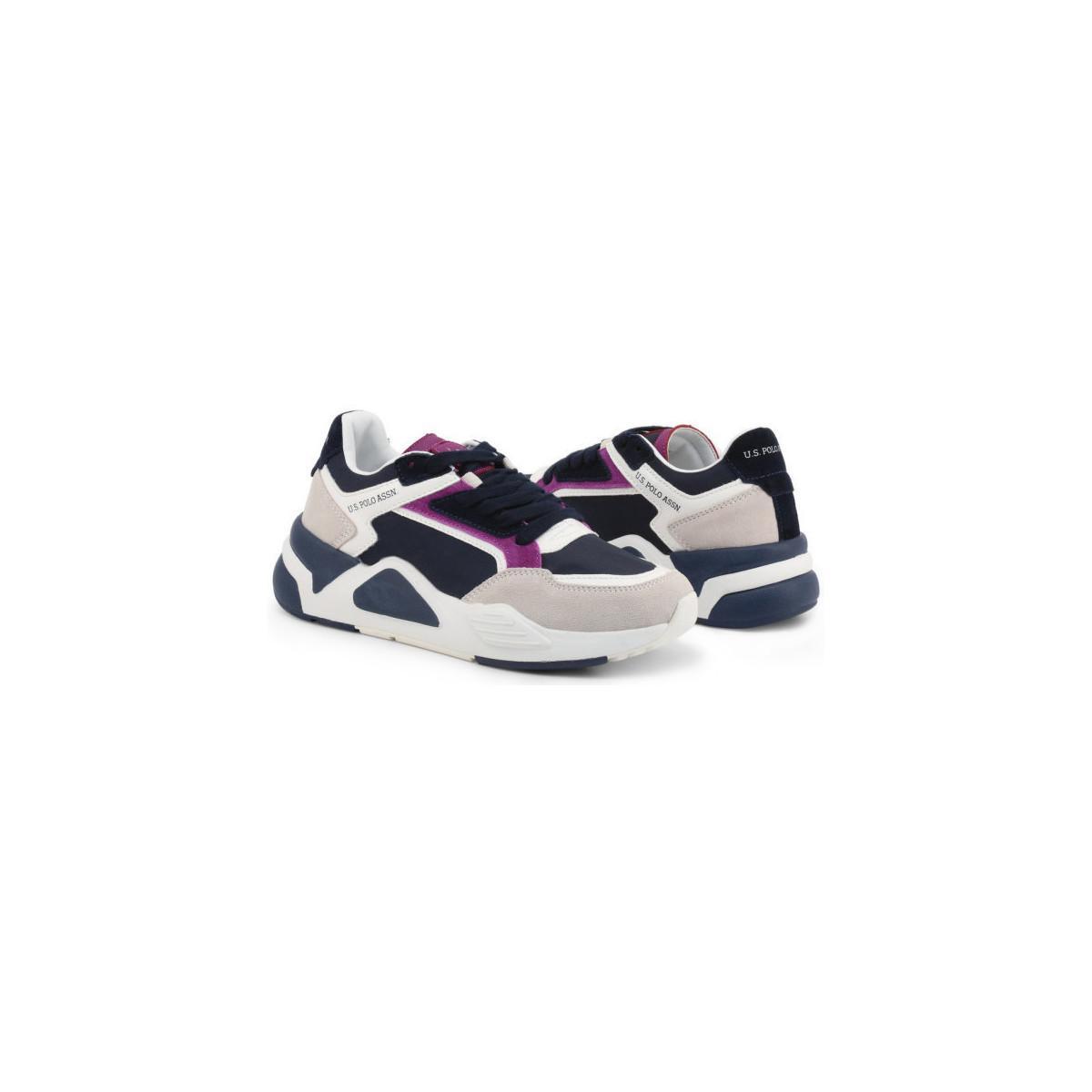 Baskets U.S. Polo Assn. - BE U.S. POLO ASSN. en coloris Blanc RjYh