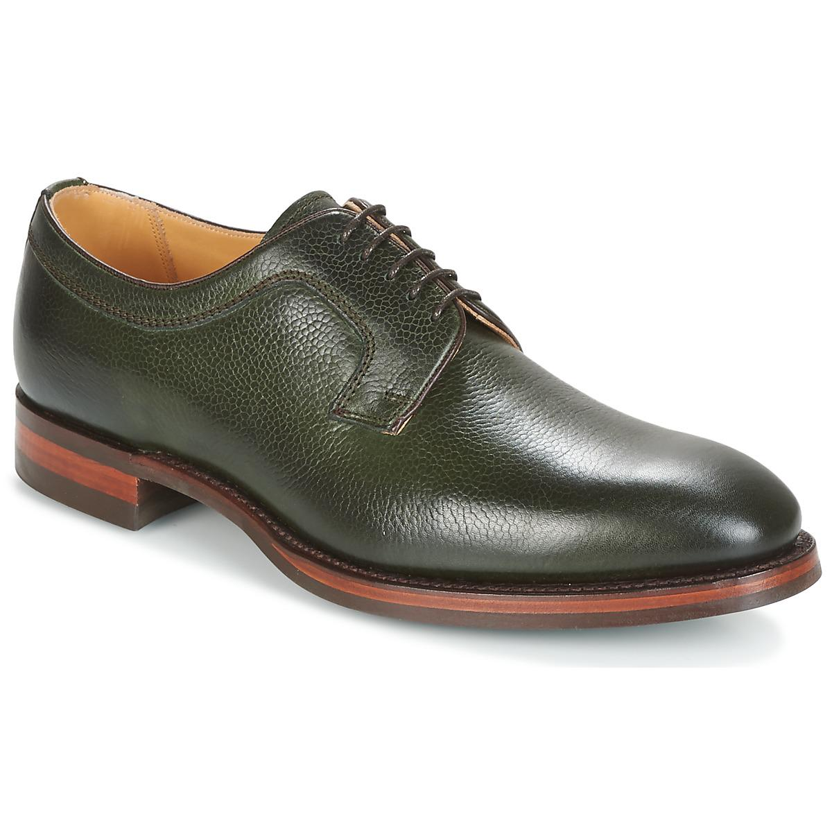 Barker Skye Casual Shoes in Green for Men