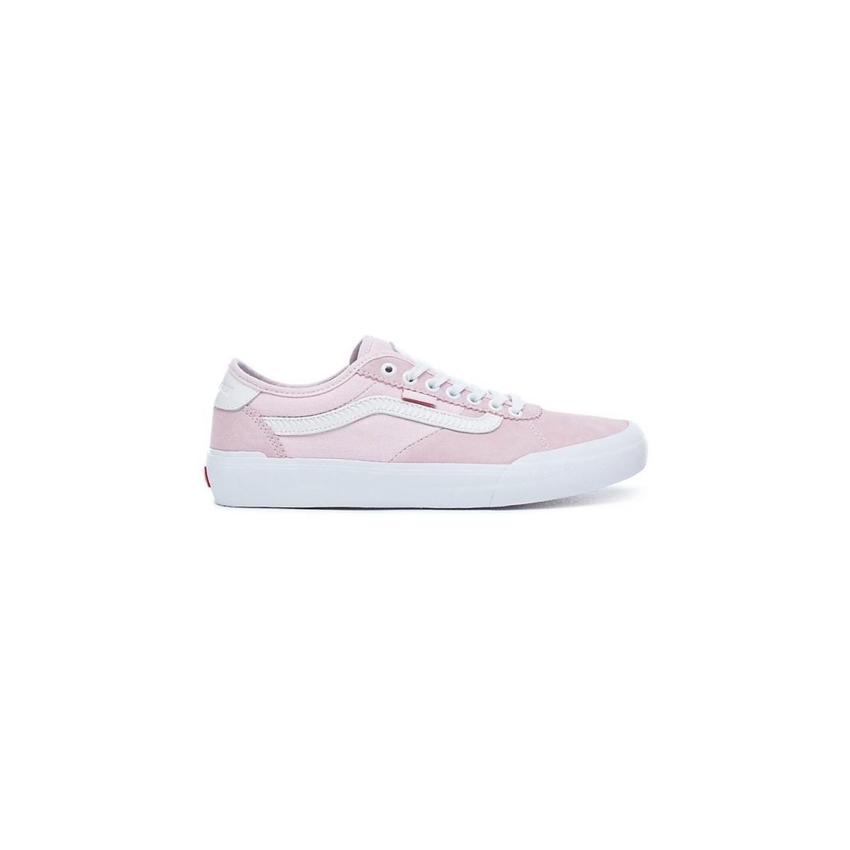 Vans X Spitfire Chima Pro Ii Rosa & Weiß Skate Schuhe Herren