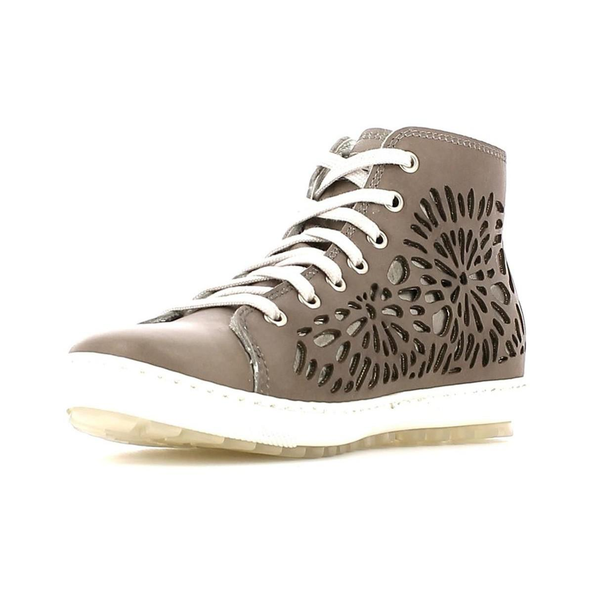 Keys 4965 Sneakers Women Taupe Women's Shoes (high-top Trainers) In Grey in Grey