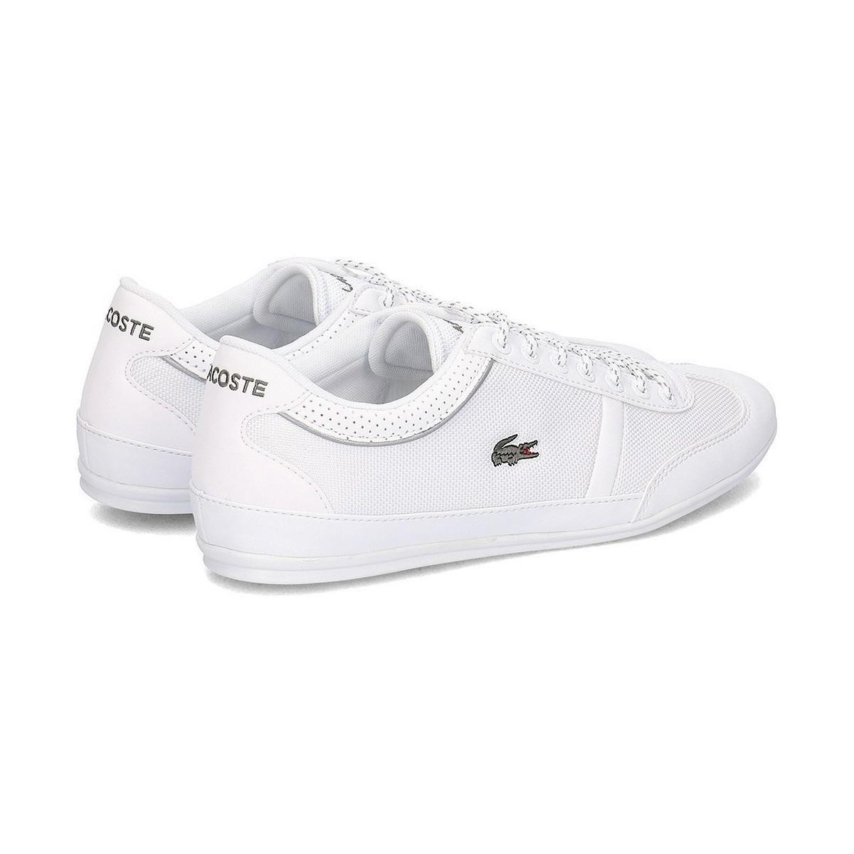 ccaca8665ccbc3 Lacoste Misano Sport 218 1 Cam Whtwht Men s Shoes (trainers) In ...