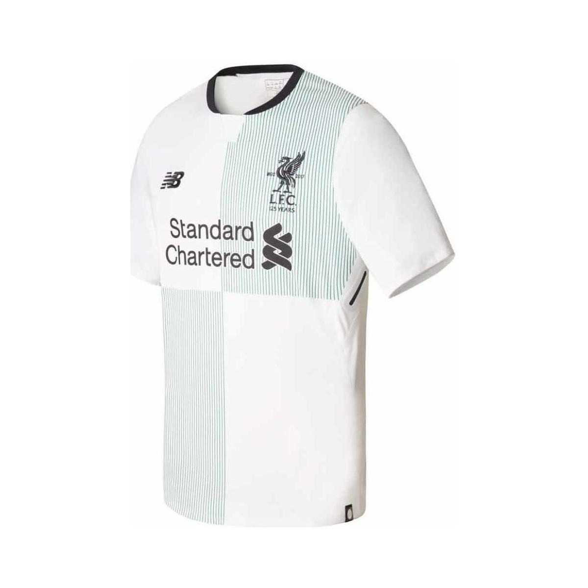 b03caf25a Lyst - New Balance 2017-2018 Liverpool Away Football Shirt Men s T ...