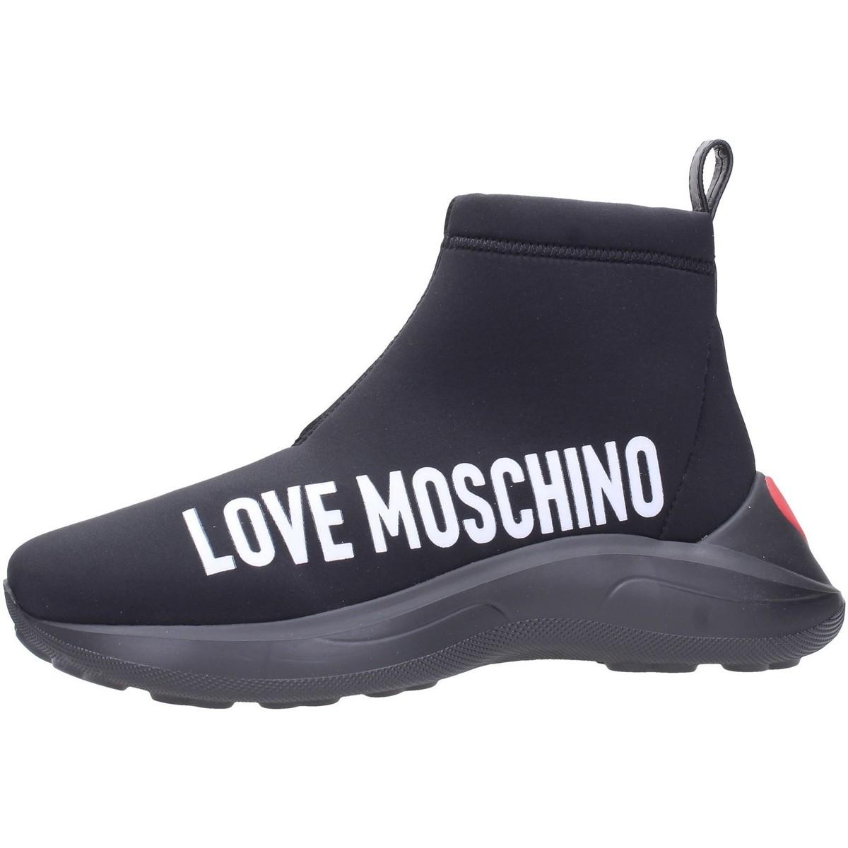 JA15216G18 Boots Love Moschino en coloris Bleu