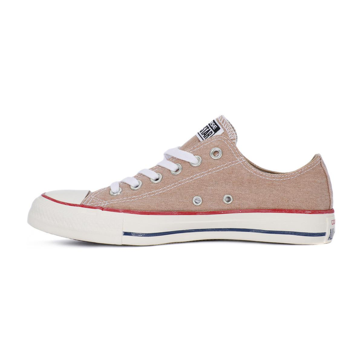 Converse All Star Ox Stone Washed Men's Shoes (trainers) In Yellow for Men