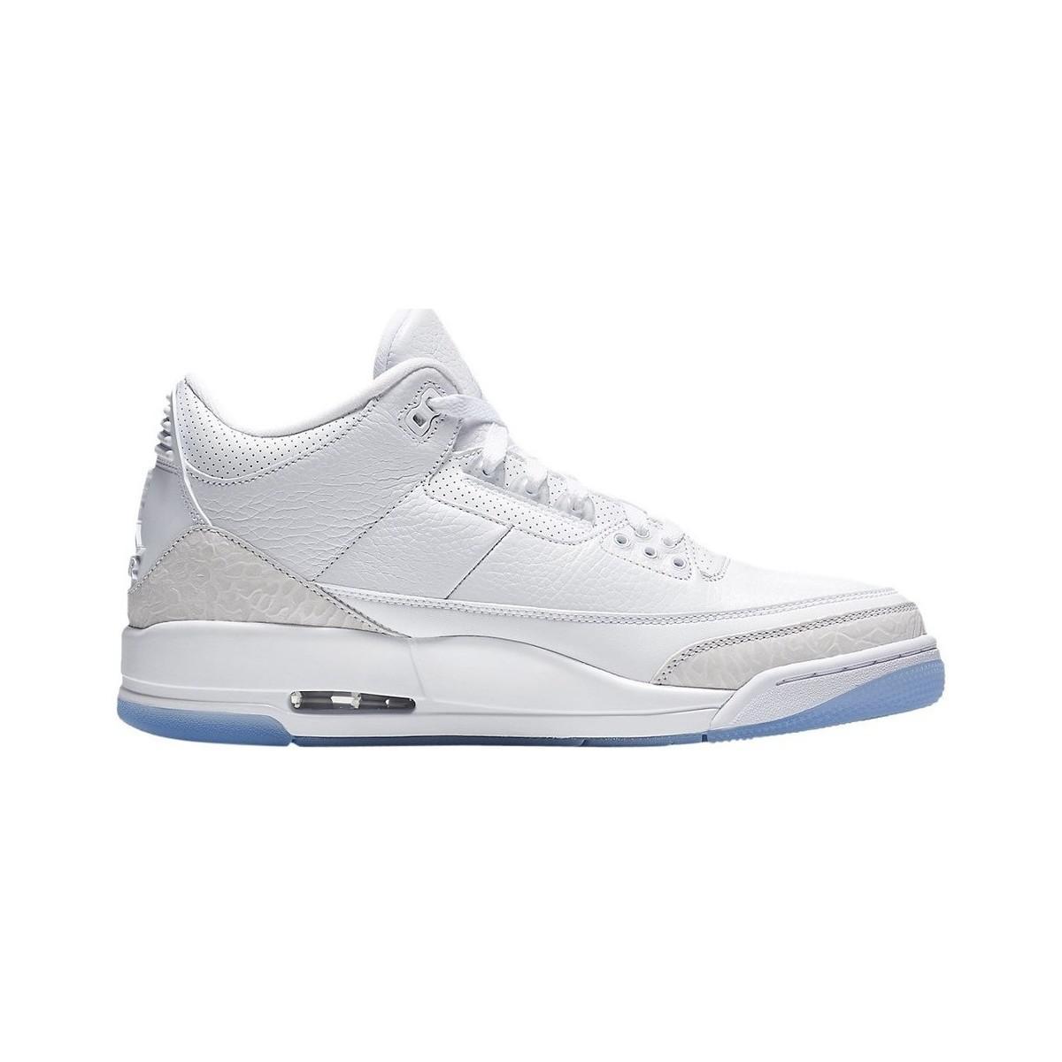 b49e4c3fa04 Nike Air Jordan 3 Retro Men s Shoes (high-top Trainers) In White in ...