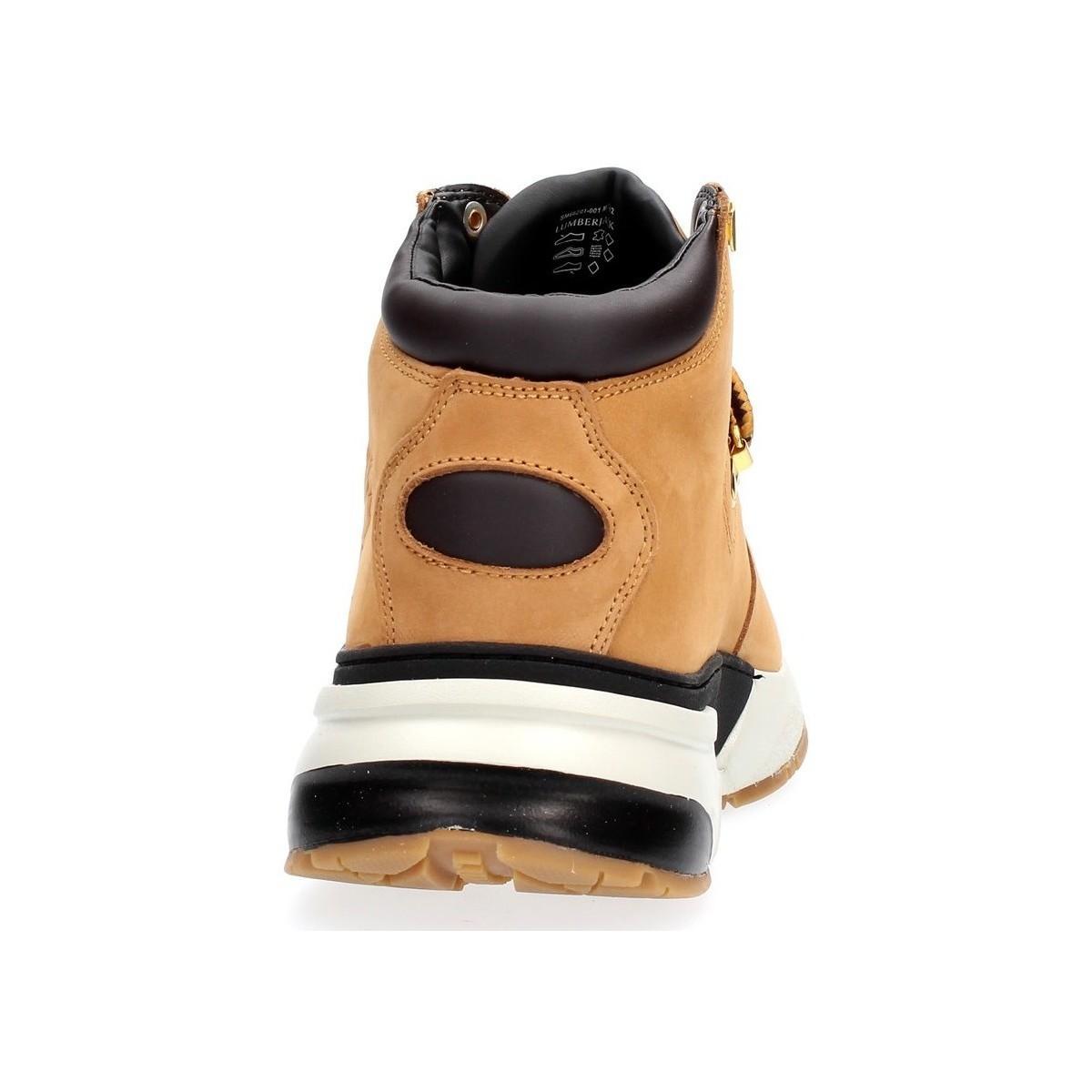 HYPE SM66201-001 Boots Lumberjack pour homme en coloris Jaune