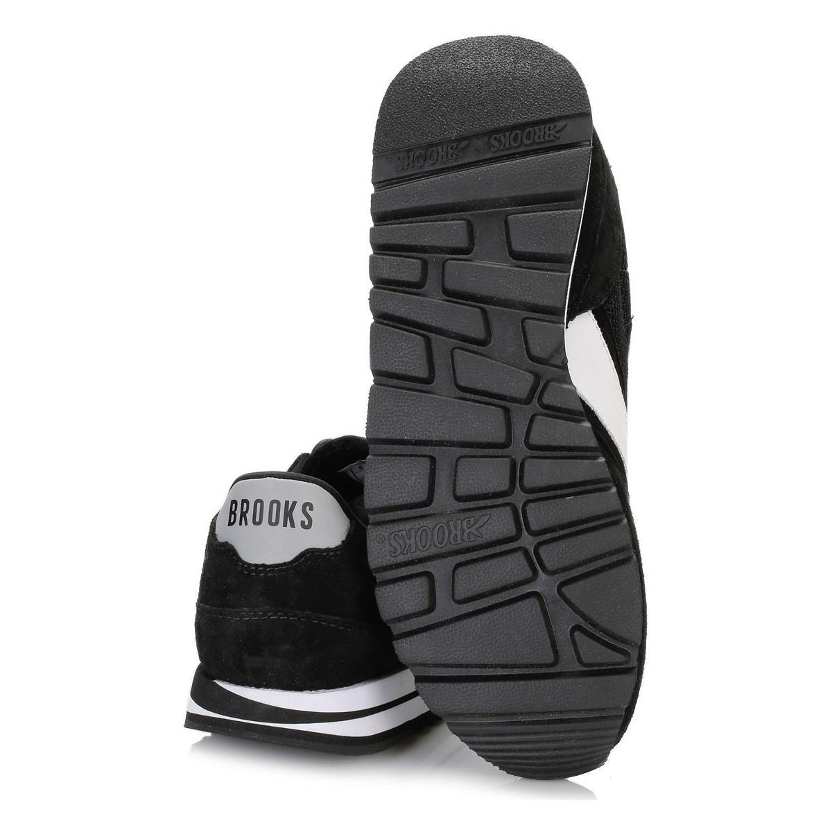 dccbd81b5f74e Brooks Mens Jet Black white Chariot Trainers Men s Shoes (trainers ...