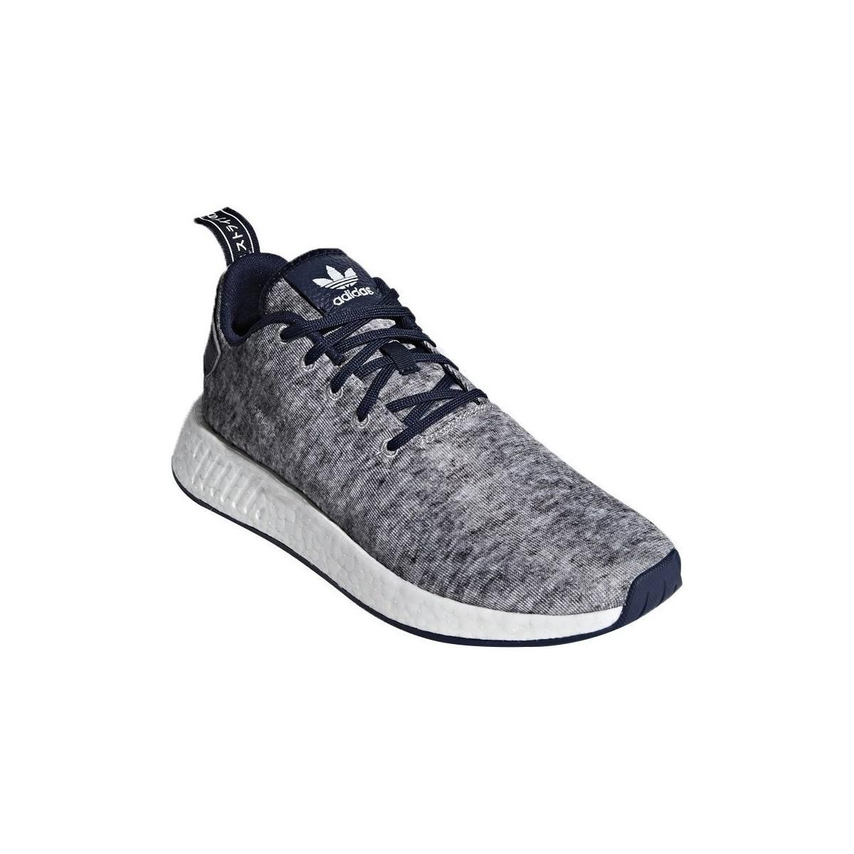 95ab5021d169b Adidas Nmd R2 Uas Men s Shoes (trainers) In Multicolour in Blue for ...