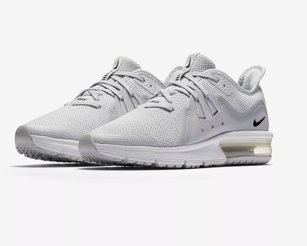 70ec2940c51 Nike Air Max Sequent 3 Gs Trainers Pure Platinum in Gray for Men - Lyst
