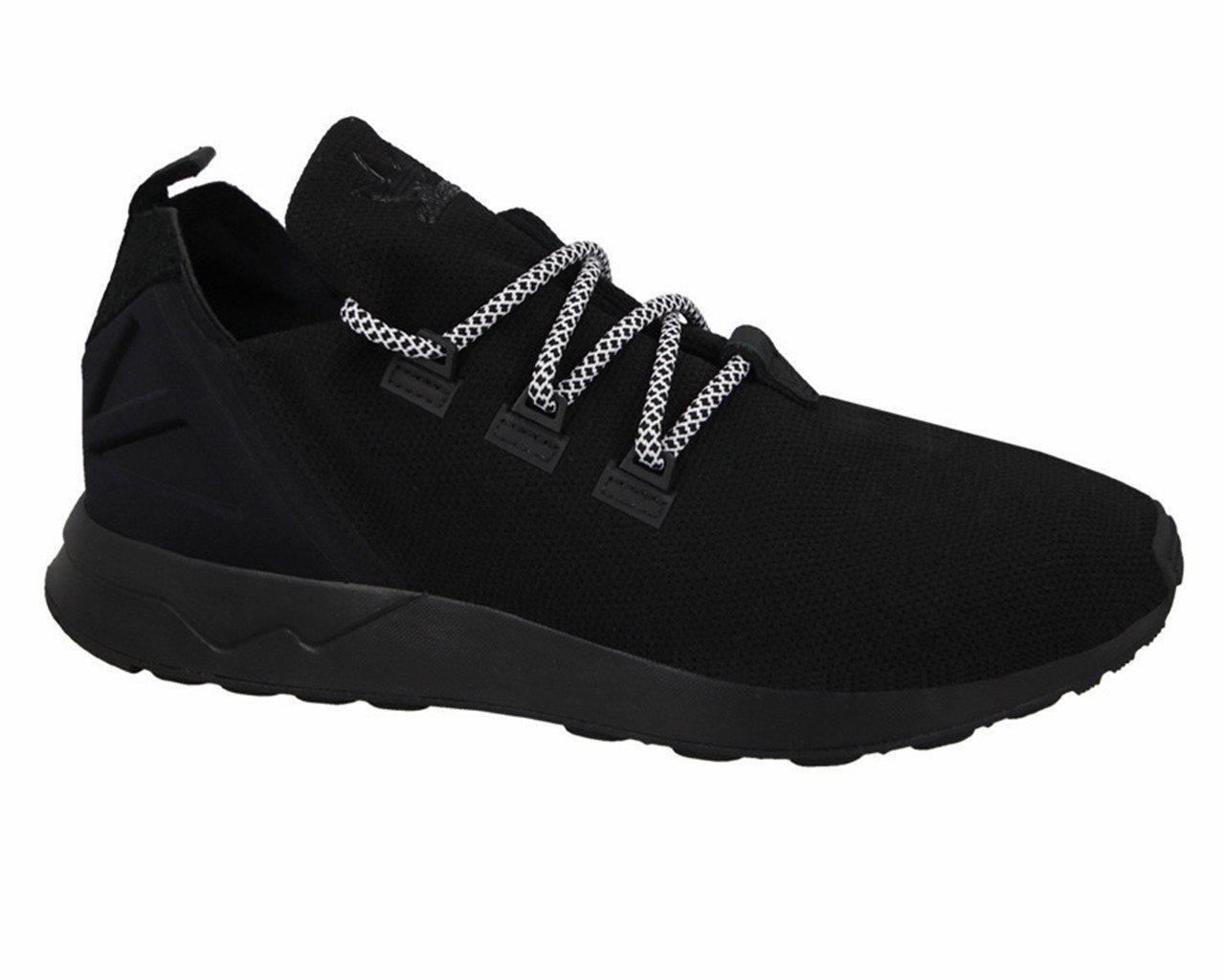 adidas Rubber Originals Zx Flux Adv X Black Trainers for Men