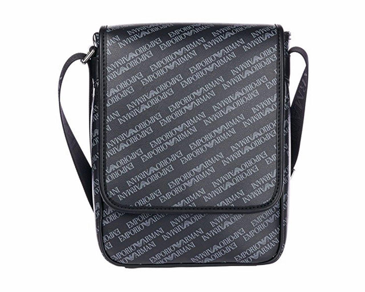 86ae94fc3446 Emporio Armani Crossbody Pvc Logo Messenger Bag Blue for Men - Lyst