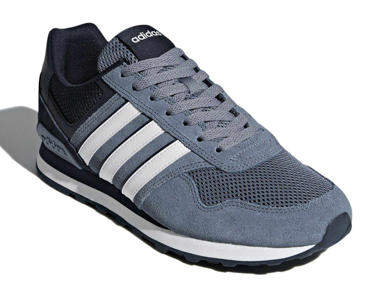 adidas Lace 10k Trainers Grey Blue for Men