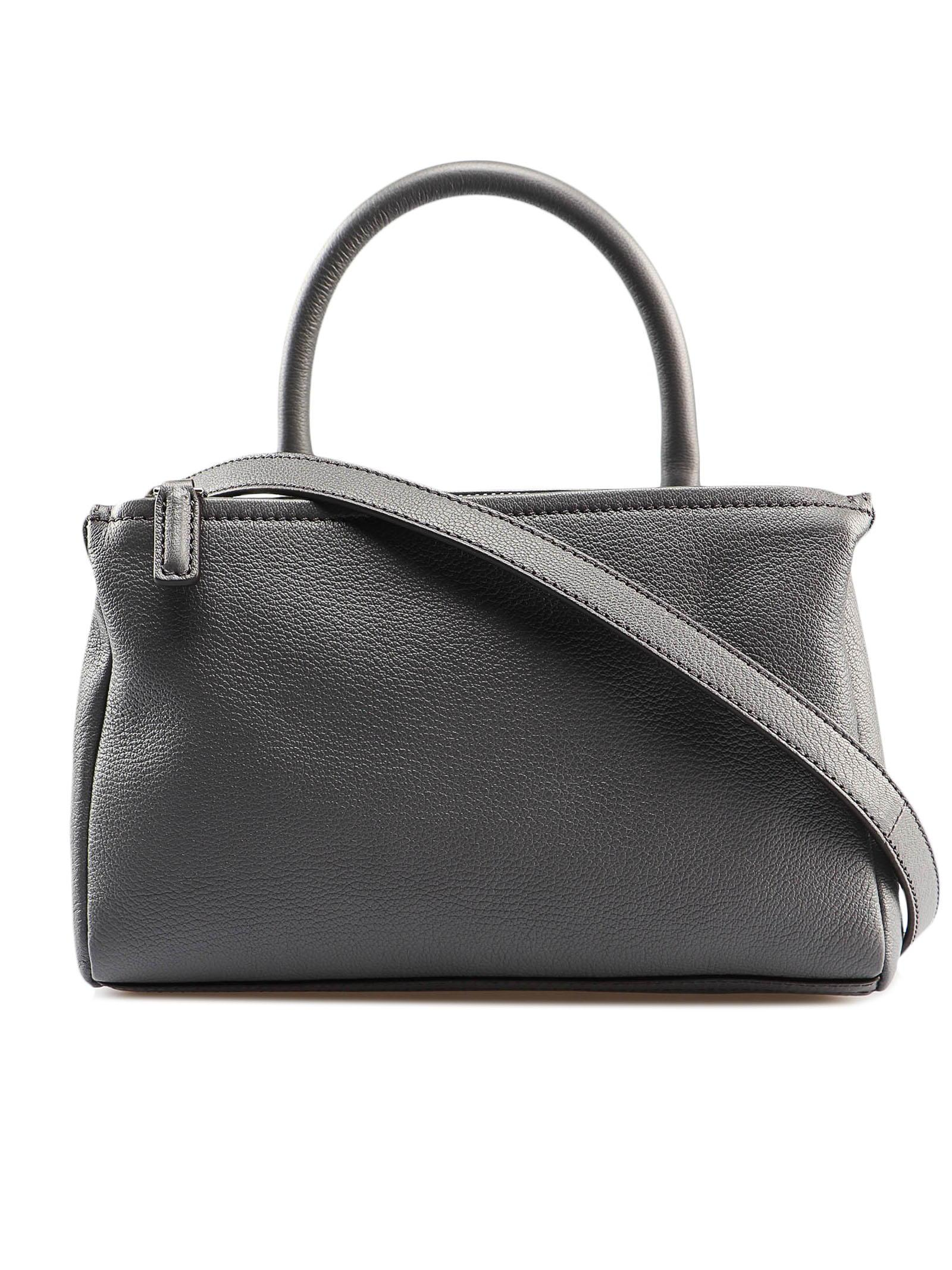 ede07fa605 Givenchy Pandora Mini Bag in Gray - Lyst
