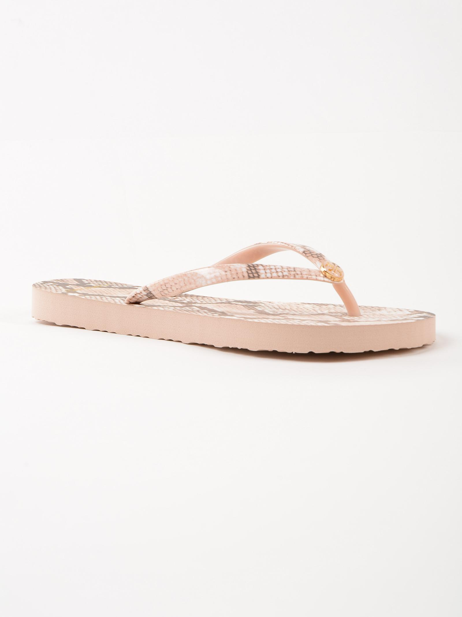 Tory Burch Printed Thin Flip Flop In Pink - Lyst-5059