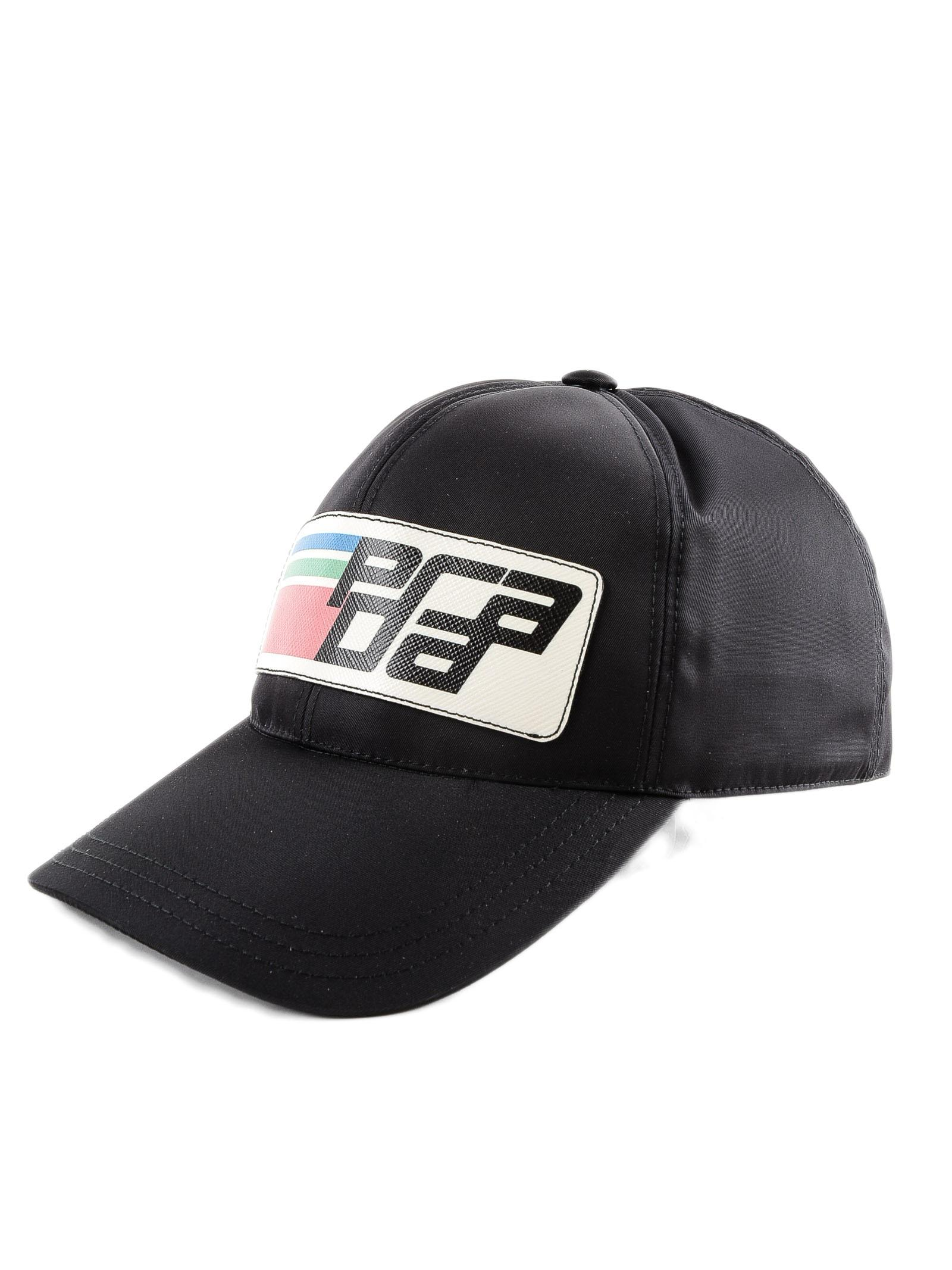 c643ce1047a Lyst - Prada Hat Tessuto in Black