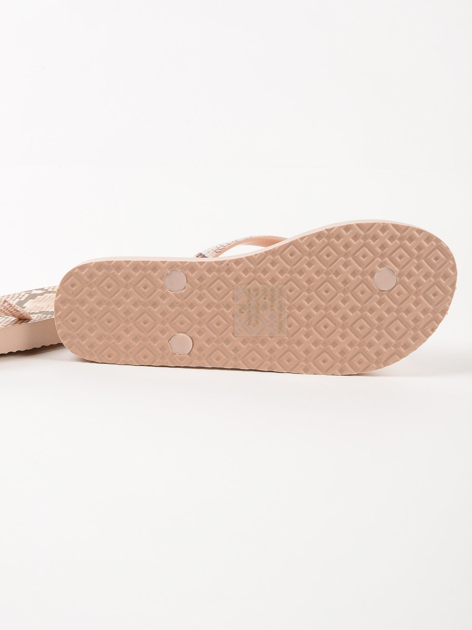 Tory Burch Printed Thin Flip Flop In Pink - Lyst-7210