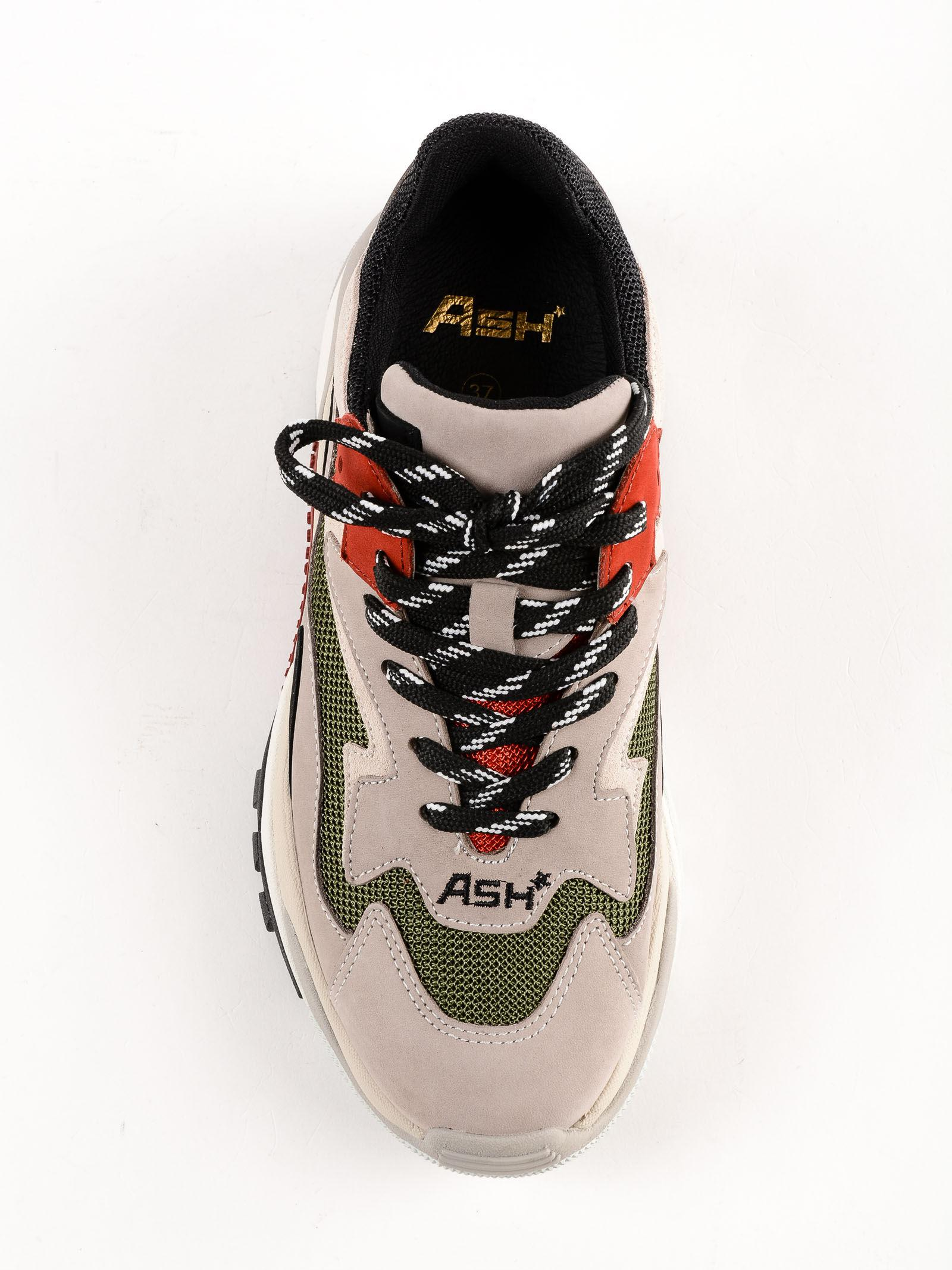 Ash Leather Sneakers Nappa Calf in Grey