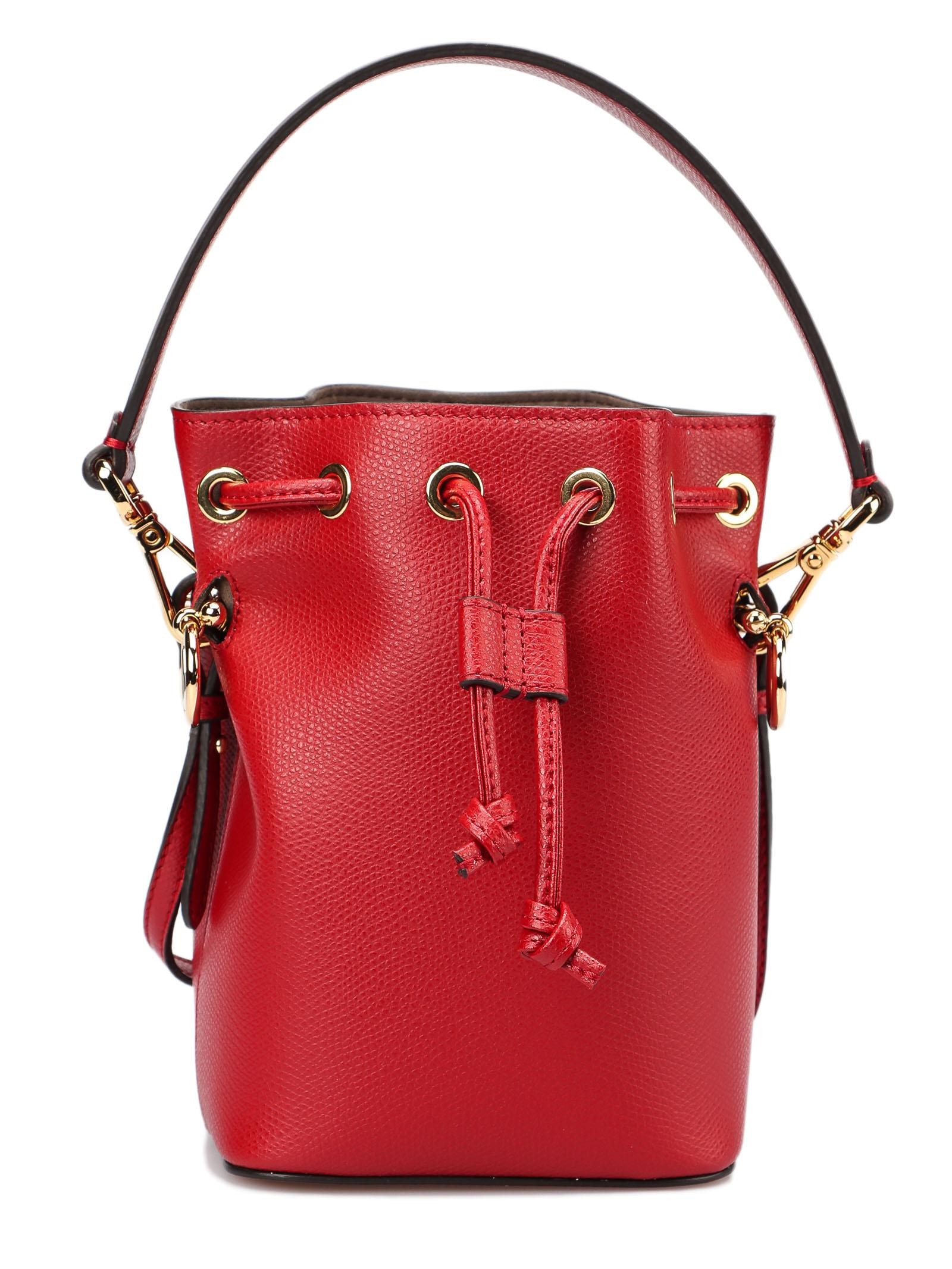 a85ba8e0500a Lyst - Fendi Mon Tresor Mini Bag in Red